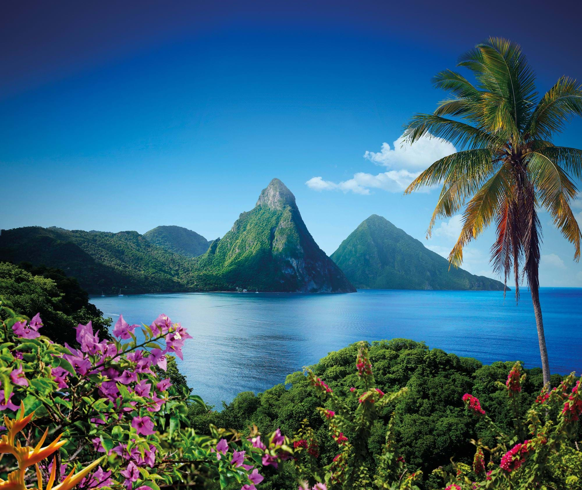 St Lucia, A vow renewal ceremony in tune with its natural surroundings