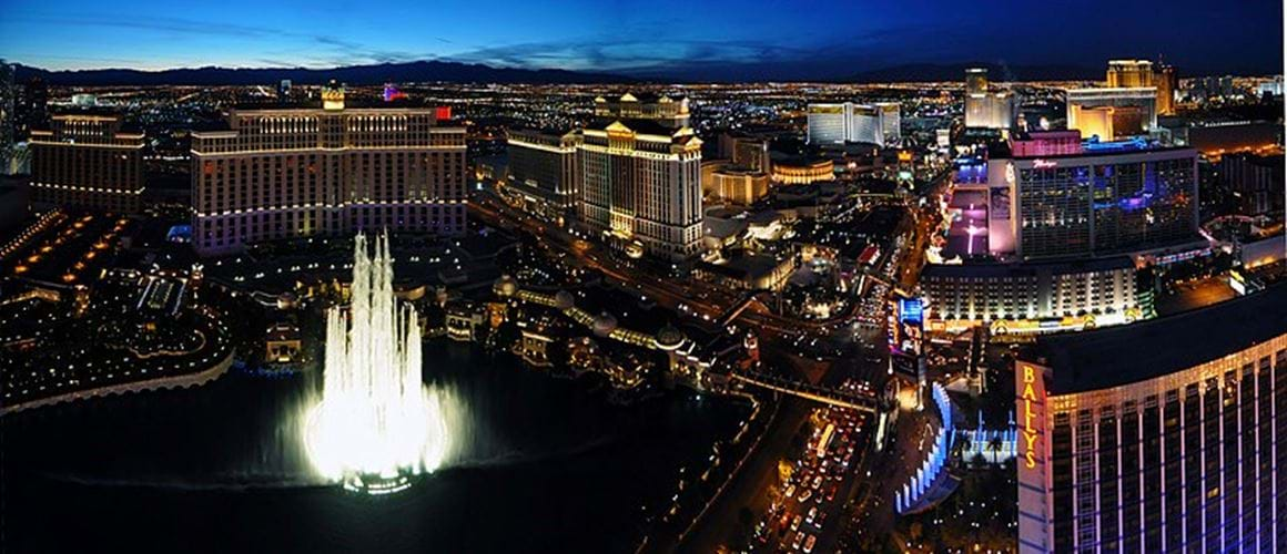 Las Vegas, Romantic or outrageous, Las Vegas will have a venue perfect for you!