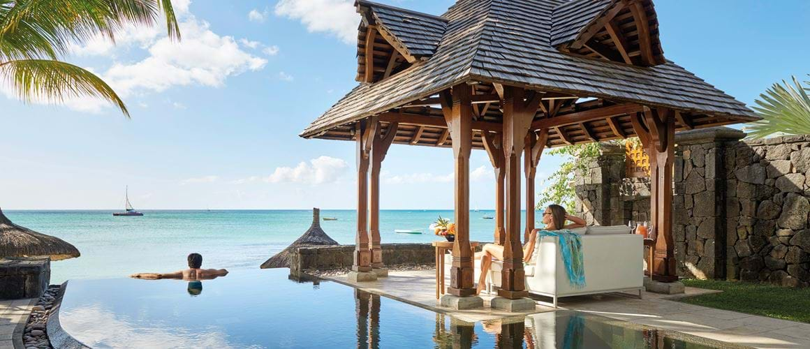 Mauritius, With crystal coves and palm fringed beaches, this emerald green tropical island is paradise